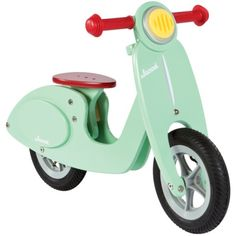 wooden toy vespa! This is so cute.. if only I had a child and money to buy it for!