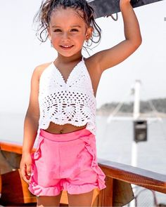 Kids Outfits Girls, Cute Outfits For Kids, Cute Kids, Cute Babies, Baby Kids, Girl Outfits, Baby Faces, Cute Young Girl, Kid Styles