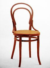 Michael Thonet -In the 1830s, Thonet began trying to make furniture out of glued and bent wooden slats. (Wikipedia)