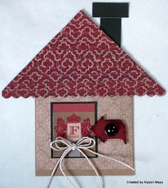card by Alyson Mayo using CTMH Huntington paper