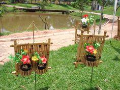 arte com bambús