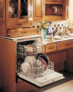 Raised Dishwasher Abinet How To Install A Raised
