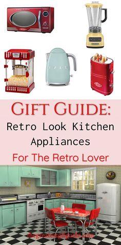 Gift Guide Retro Look Kitchen Liances