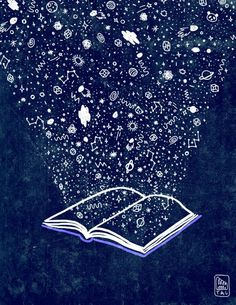 """She opened her book and she read from the stars..."""