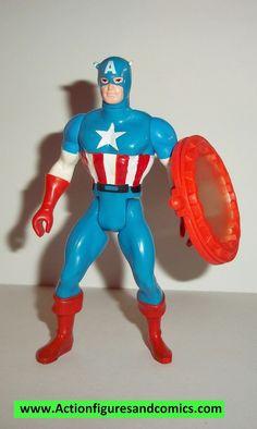 secret wars CAPTAIN AMERICA 1984 vintage mattel complete action figures marvel super heroes
