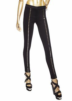 Versace - Hook-And-Eye Twill Trousers