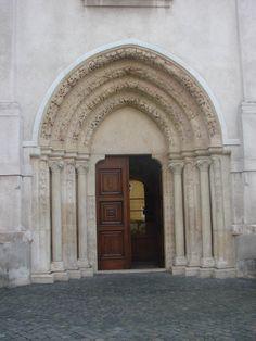 Photo by :Elena Sabadošová Continental Europe, Central Europe, Bratislava, Romanesque, Doorway, Landscape, World, Entrance, Entryway