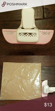 large paper punch doily edger. scrapbooking. Accessories