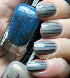 Pointless Café: Liquidus Nail Gloss Blue Diamond Turquoise & Arsenic