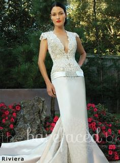 Baccini and Hill Wedding Gown The Barefaced Bride