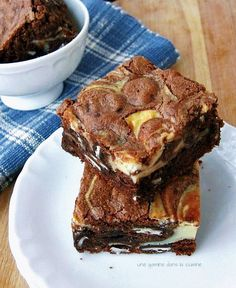 Peppermint Patty Cream Cheese Swirl Brownies | You won't be able to resist this brownie recipe. Cream cheese takes it to the next level.
