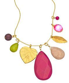 David Aubrey Cluster Charm Necklace - Max & Chloe
