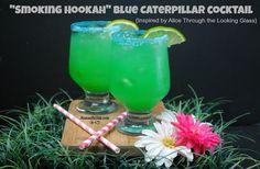 """Smoking Hookah"" Blue Caterpillar Cocktail Recipe on Yummly"