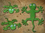 Lagarto de punto móvil LiveInternet - gecko | Rioritta - Juguetes tejidos |