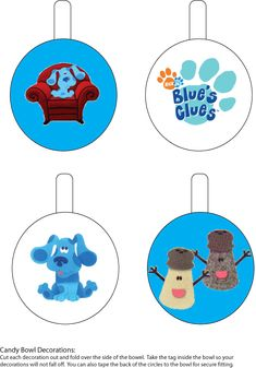 Blues Clues Party Printables