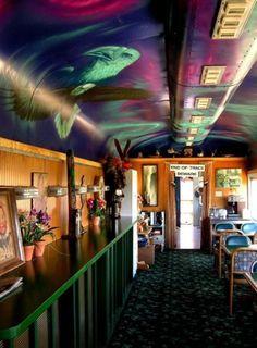 AURORA EXPRESS – необычный отель-поезд. Аляска.