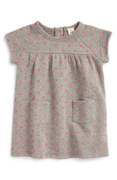 Tucker + Tate Print Terry Sweater Dress (Baby Girls) available at #Nordstrom
