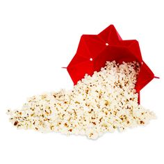 Just add kernels to the fill line of the Chef'n Pop Top, close the tab, and microwave for up to 10 cups of homemade popcorn.  ($16.30; amazon.com)   - CountryLiving.com