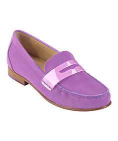 Take a look at this Aster Purple Monroe Penny Loafer by Cole Haan on #zulily today!