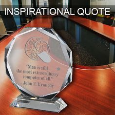 Happy System Administrator Appreciation Day! #inspirationalquotes #crownawards  Find our Crystal Awards-Magnitude, and more, on our Crown Awards website. http://www.crownawards.com/StoreFront/GLOCT7.ALL.Crystal_Awards.Magnitude_Crystal_Awards.prod