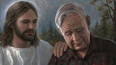 I like this man's message and the way he tells it. The Face of Christ - Jon McNaughton Jon Mcnaughton, Prayer For Church, Get Closer To God, Religious Paintings, Words Of Hope, Christian Families, Catholic Prayers, Jesus Pictures, Inspirational Videos