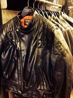 Black Vanson Leather Jacket