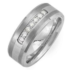 Wanted to surprise my husband with a new ring for his birthday. http://www.amazon.com/dp/B005GFP9ZU/ref=nosim?tag=x8-20