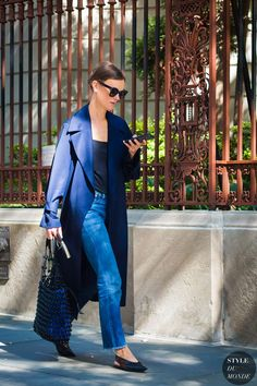 New York SS 2017 Street Style: Jo Ellison