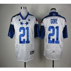 49ers  21 Frank Gore White 2012 Pro Bowl Stitched NFL Jersey c5daf6474