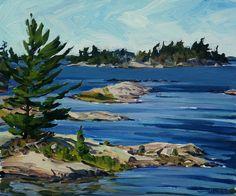 Burns Fine Art: Georgian Bay