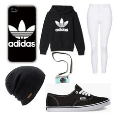 """Picture time!"" by josiee20 ❤ liked on Polyvore featuring adidas, Vans, Topshop and Coal"