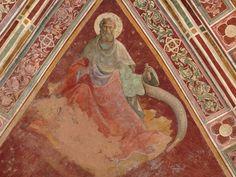 Lorenzo Monaco - Profeta Isaia - affresco - 1420-1424 - Volta - Cappella Bartolini Salimbeni - Firenze, Basilica della S. Trinità