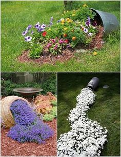 Image result for ideas for gardens with stones