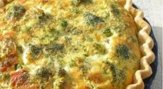 Tarta de brócoli y calabaza