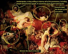 After Me The Flood- In Delacroix ,,The Death Of Sardanapalus,, Romanticism, Death, Movie Posters, Film Poster, Popcorn Posters, Romantic Music, Romance Comics, Romances, Billboard