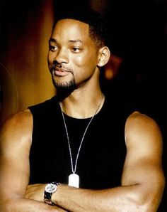 """Will Smith - From """"The Prince of Bel Aire"""" to """"Bad Boy"""".  Still cute just dresses better."""