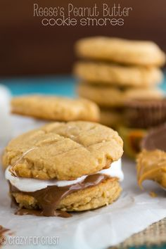 Slam Dunk Peanut Butter Cookie Reese's S'mores