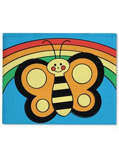 Preprinted, all kids need to do is paint! - Canvas Creations - Butterfly | $8.00