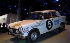 Peugeot 404 1967 East Africa Safari Rally Car #5 driven by winners Shankland and Rothwell