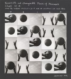Dora Maurer. Reversible and Changeable Phases of Movement, Study No. 4. 1972