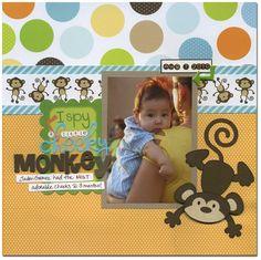 cheeky monkey - Scrapbook.com