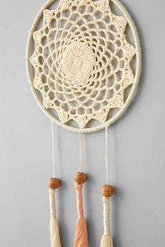 Plum & Bow Crochet Dream Catcher - Urban Outfitters