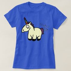 Unicorn Farts T-Shirt created by Ariel_in_Wonderland. Personalize it with photos & text or purchase as is! Choose colour,size, and style M/F Fart Humor, Farts Funny, Unicorn Farts, Cute Woman, Wardrobe Staples, Cool T Shirts, Funny Tshirts, Colorful Shirts, Fitness Models