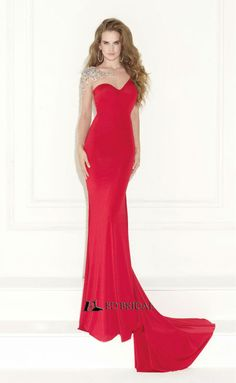 2015 New Fashion Mermaid Beaded Open Back Pleated Italian Evening Dress 2014