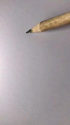 Art Drawings Beautiful, Art Drawings Sketches Simple, Pencil Art Drawings, Realistic Drawings, Drawing With Pencil, Easy Drawings, 3d Art Drawing, Painting & Drawing, Create Drawing