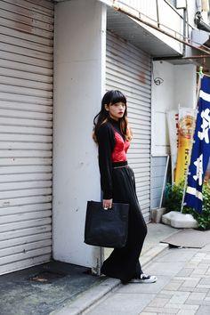 佐藤 志穂のストリートスタイル1