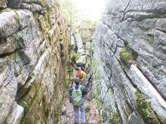 Hudson Valley Hiking: Sams Point Preserve: Shingle Gully, Grand Canyon, Ice Caves, The Flume