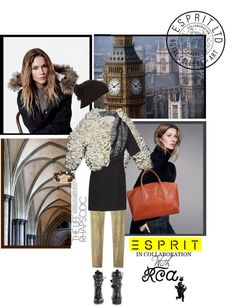 """""""Challenge Your Design Talent with Esprit & The Royal College of Art"""" by khumphrey101 ❤ liked on Polyvore"""
