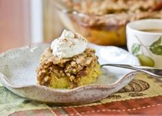 Pecan Pumpkin Crunch (with bourbon!)
