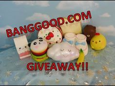HUGE SQUISHY GIVEAWAY!  OPEN!!   Closing June 30th
